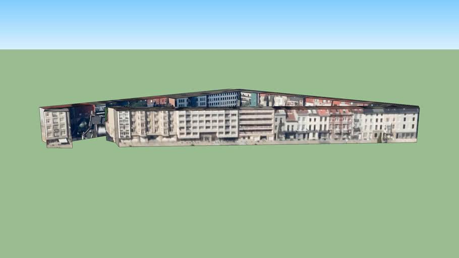 Edificio en Saint-Gilles, Bélgica