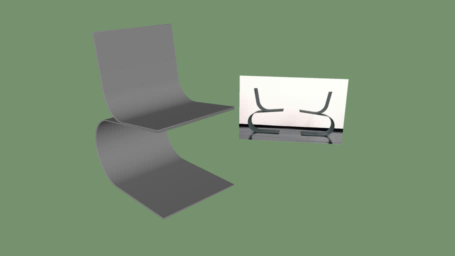 TWO CURVED Chair