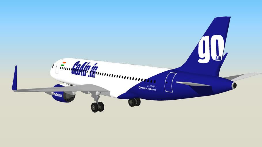 GoAir A320neo VT-WGA