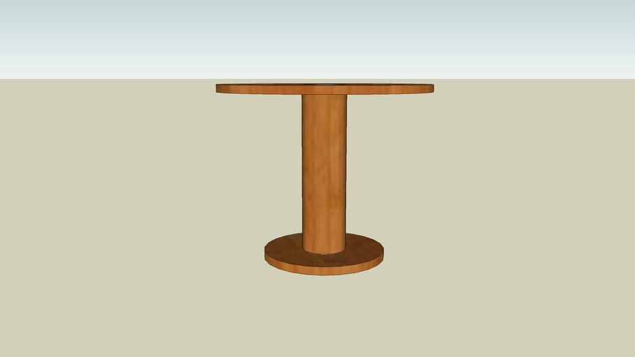 tafel bamboe hout
