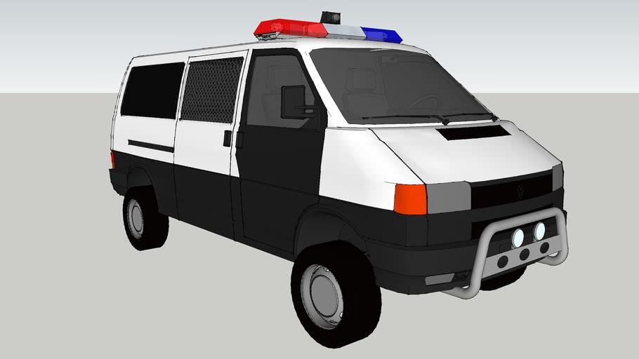 VW Transporter-T4 police van (bosnia police-POLICIJA)