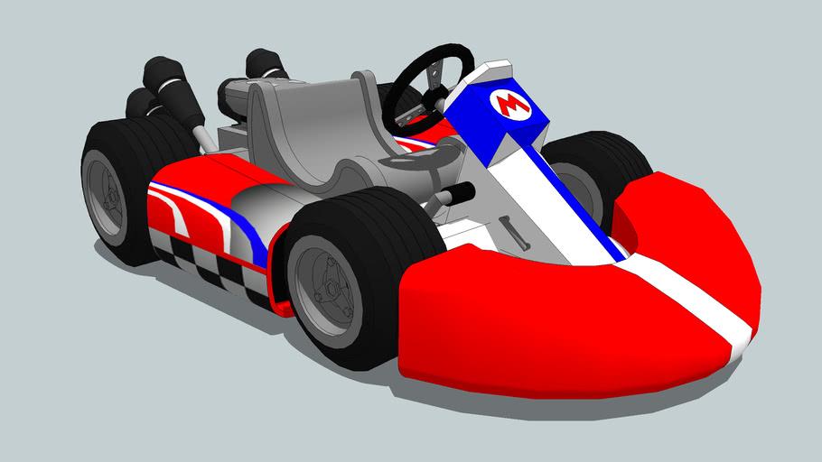 Mario Kart Wii   3D Warehouse