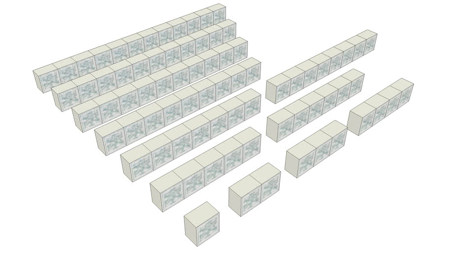 Premiere Series 6x6 Glass Block Products
