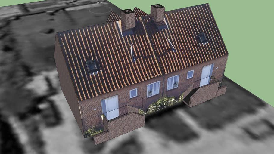 Duplex house 6