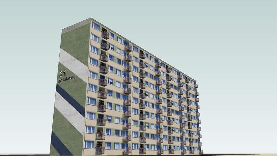 Blok mieszkalny Olsztyn VII