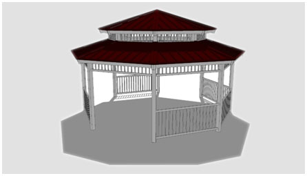 Octagonals & Gazebos