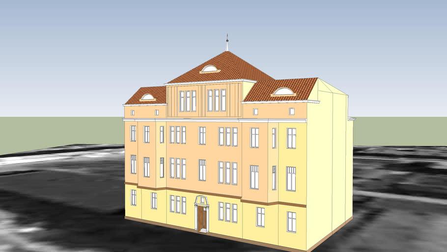 TENEMENT HOUSE ON 4 REJA STREET IN BYDGOSZCZ