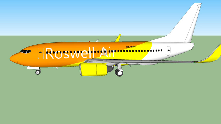 Roswell Air (2016[F]) Boeing 737-717