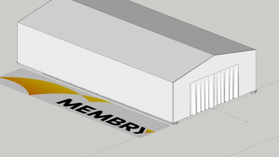 固定移動式テント倉庫
