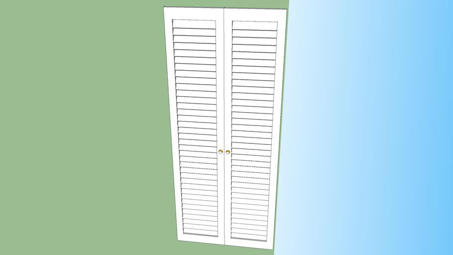 Dynamic (double) closet door