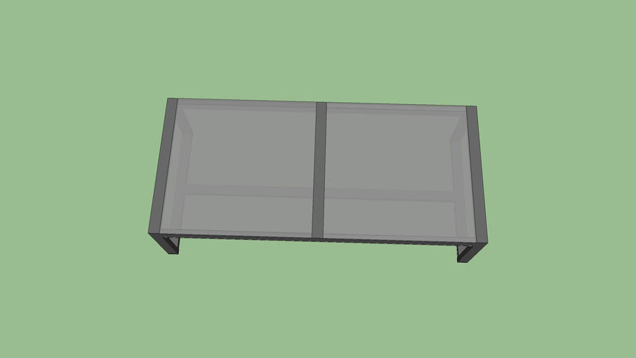 Allux Coffee Table Glass