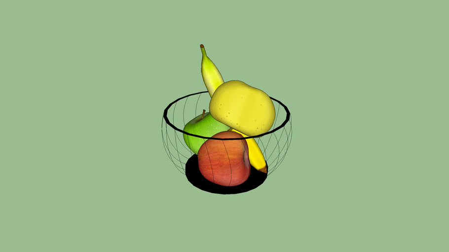 Bowl with fruit