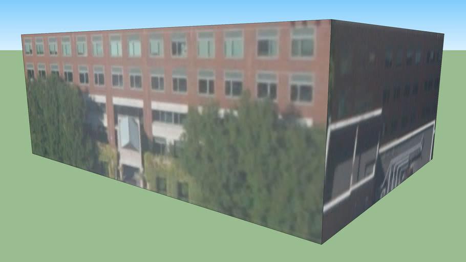 Bâtiment situé Cambridge, Massachusetts, États-Unis