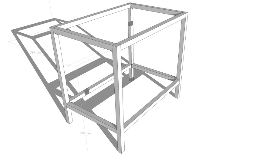 A simple frame in metal  By Grim