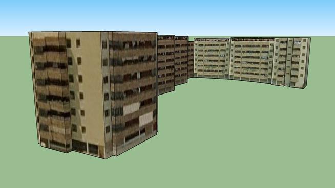 Conjunto residencial en la calle Lago Barbarisa
