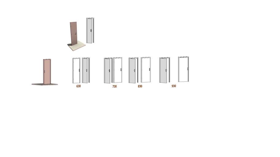 porte standard 63/73/83/93   door