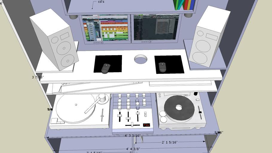 t4twister DJ booth new