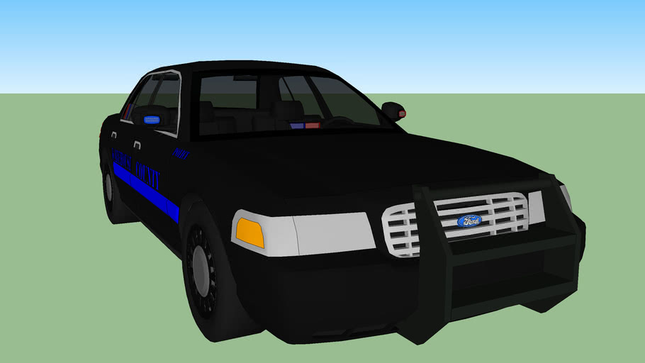 Warehouse County Police Stealth Cruiser