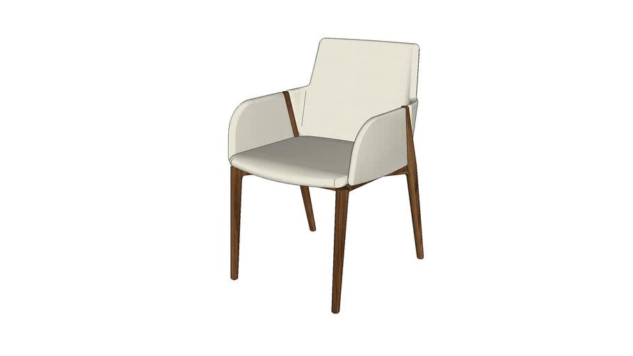 Cadeira Gluve (com braço)