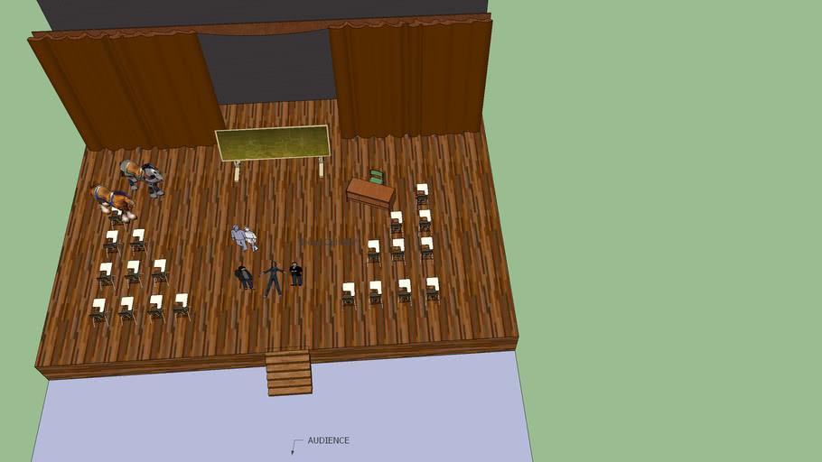 Hamlet set designs1model
