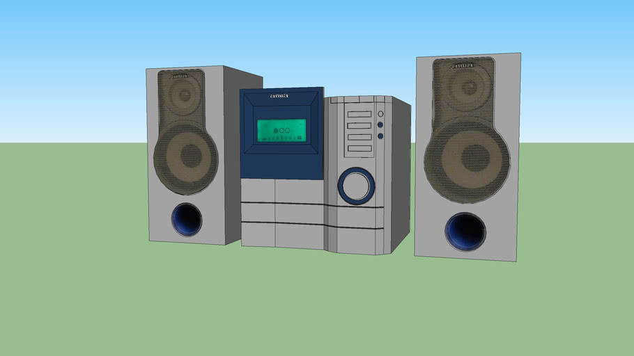 Aiwa (XS-G3) compact stereo system