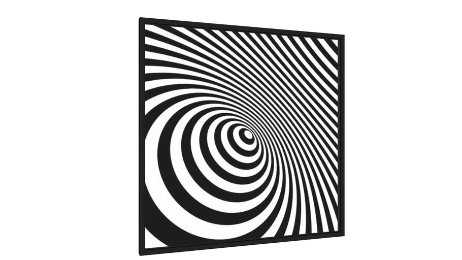Quadro Abstract Lines II - Galeria9, por Pug