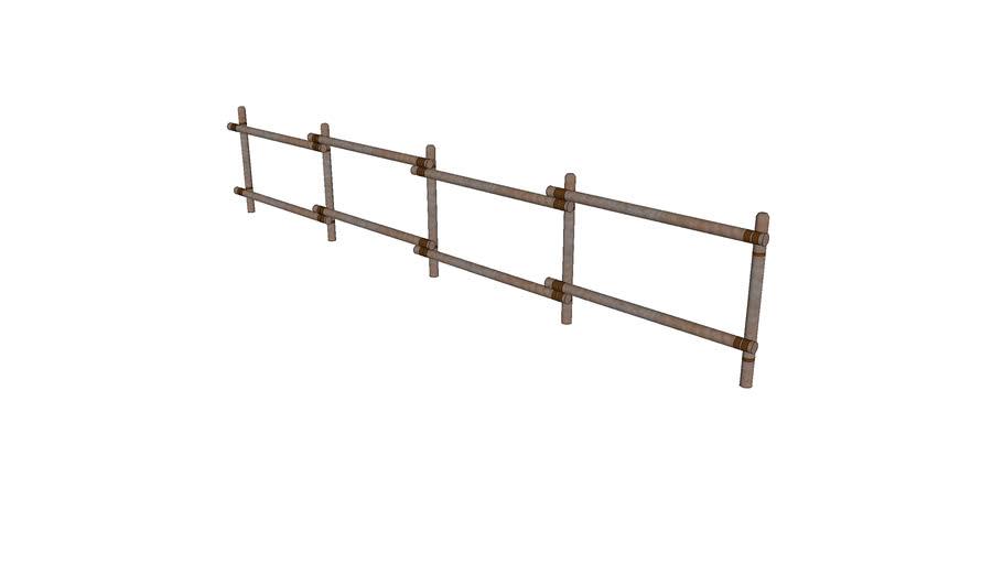 Rustic Wood Rail