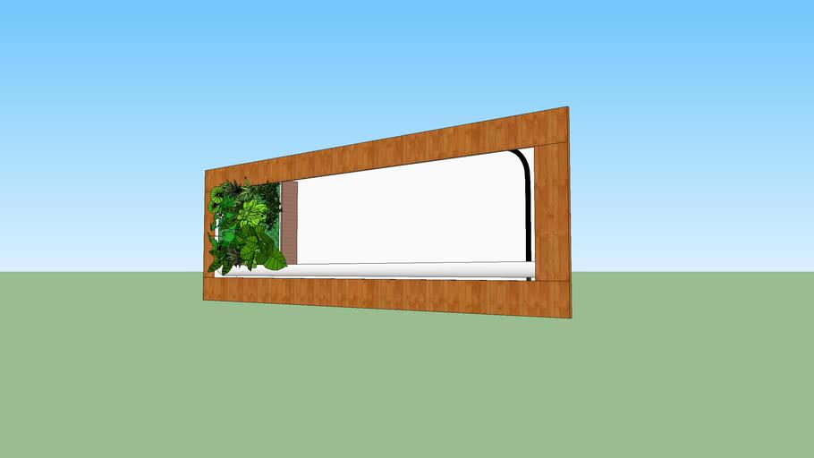 cadre pour mur vegetal