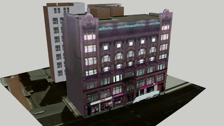 Building on Queen Street, Glasgow