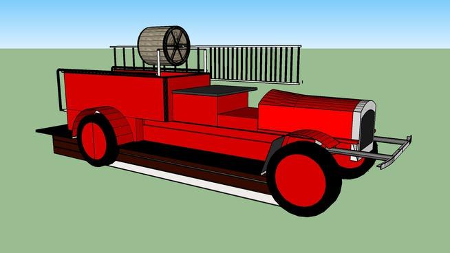 Firetruck 1927 Seagrave