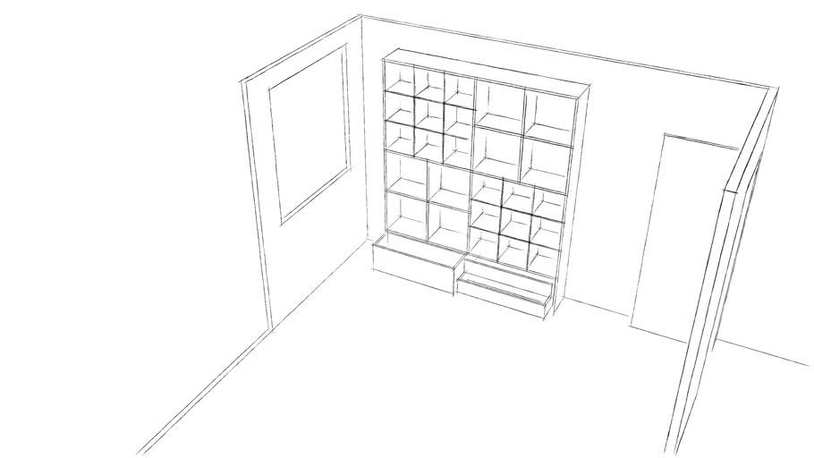sketch shelf