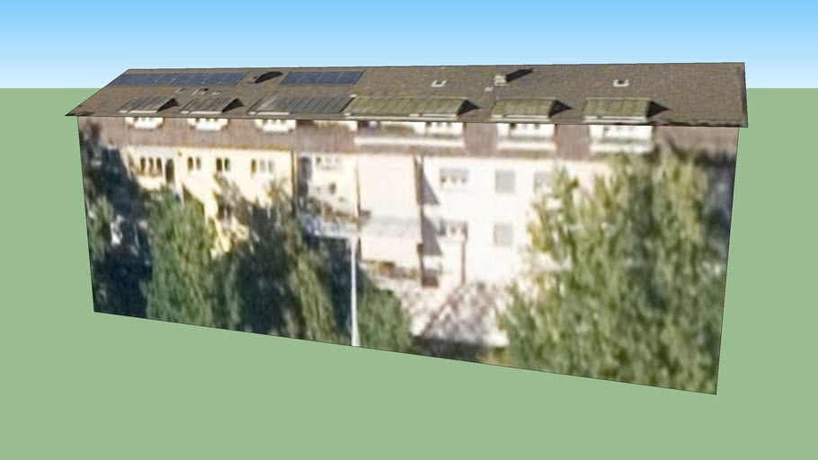 Gebäude in Zürich, Schweiz