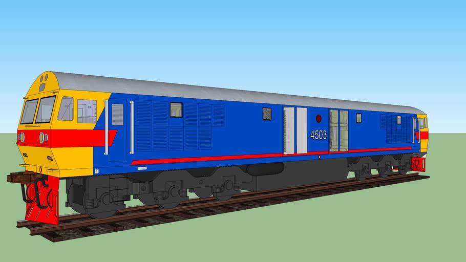 State Railway of Thailand - Hitachi Diesel Locomotive