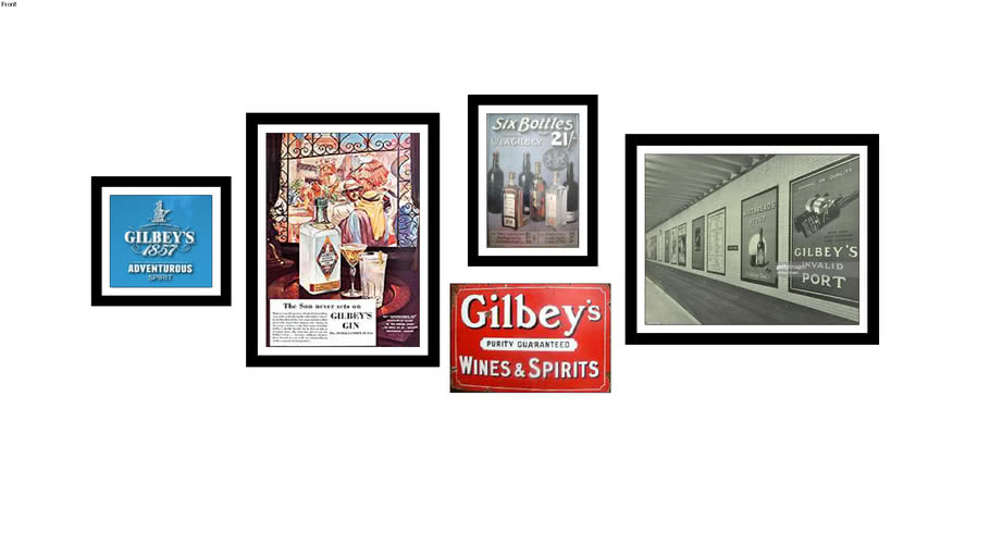 Gilbey's Gin Vintage Images