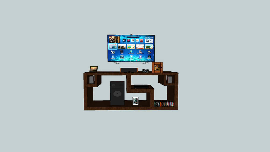 Diy Tv Stand 3d Warehouse