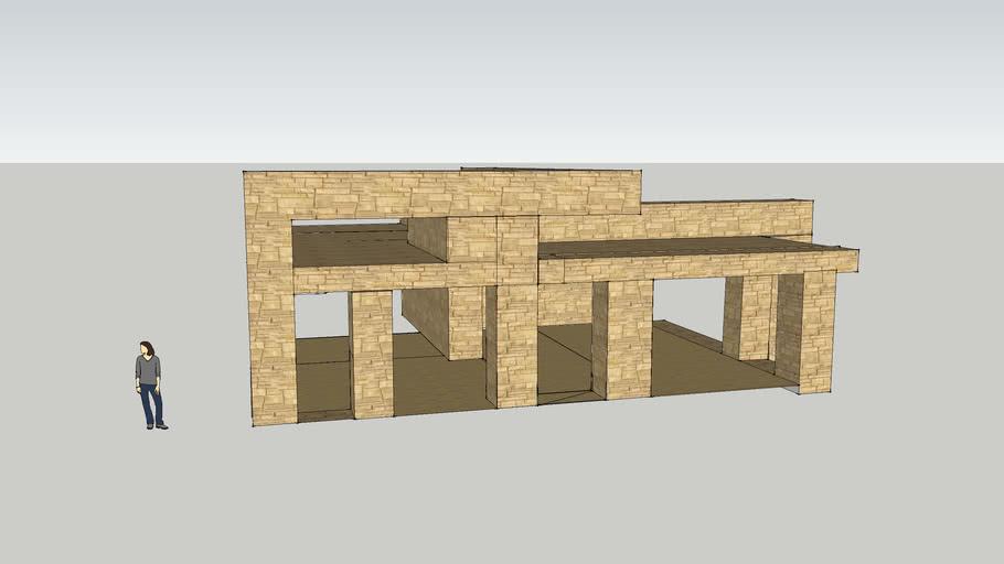 my modern house design for minecraft...!!!