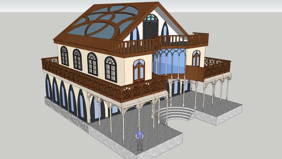 Elven Palace Model 1