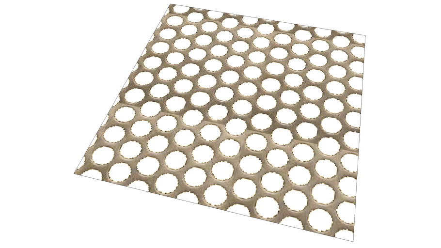 Perforated Steel Texture