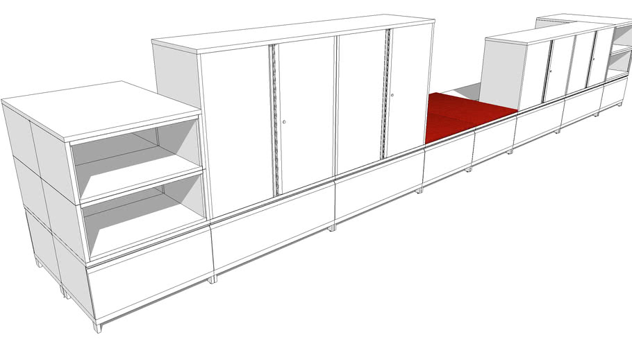 Meridian Business Center, Space Divider