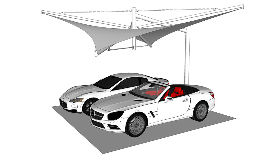 indemanddrawingoffice.co.za Cantilever Hyparport Tension Rods  Shade