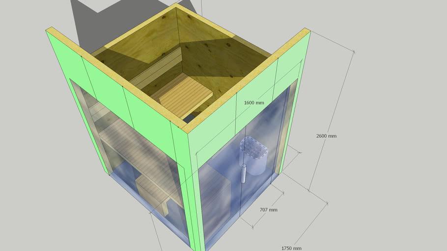 Kavel 47 - Glas, RVS greep, Interne besturing- 2 zijdes glas