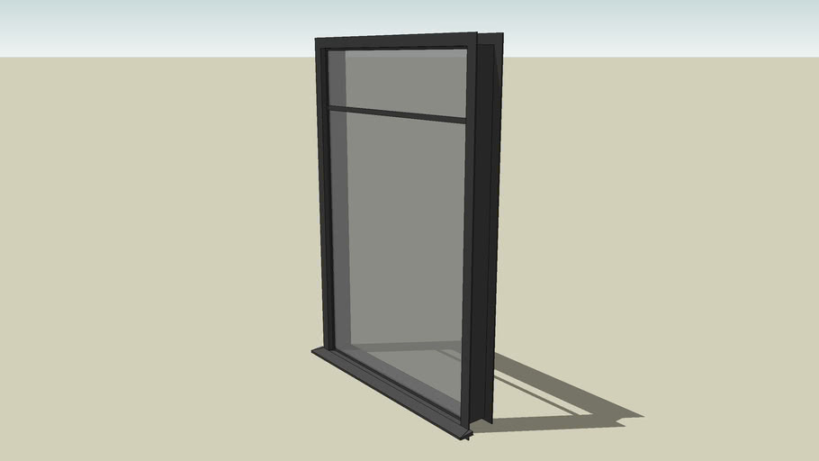 4'x6' exterior casement window