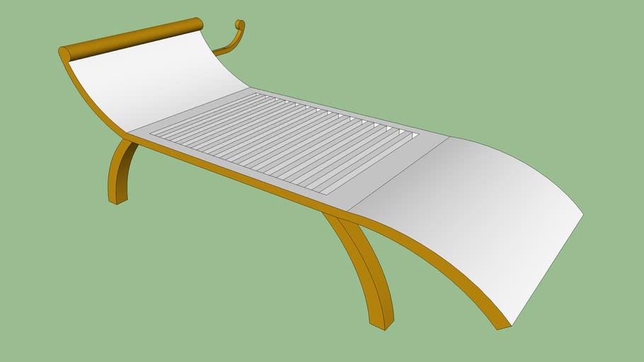 Cadeira de Descanso para Piscinas com Porta Toalhas