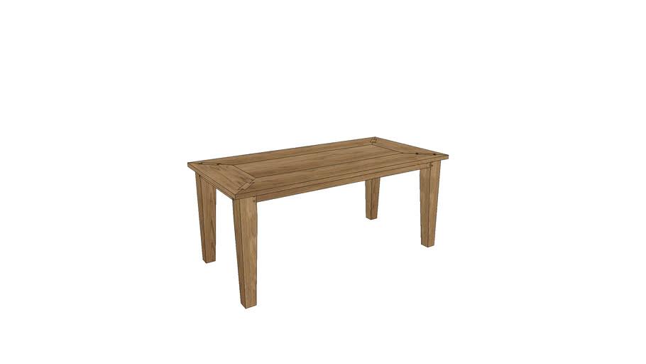 CM102, Cambridge Dining Table 180x90cm