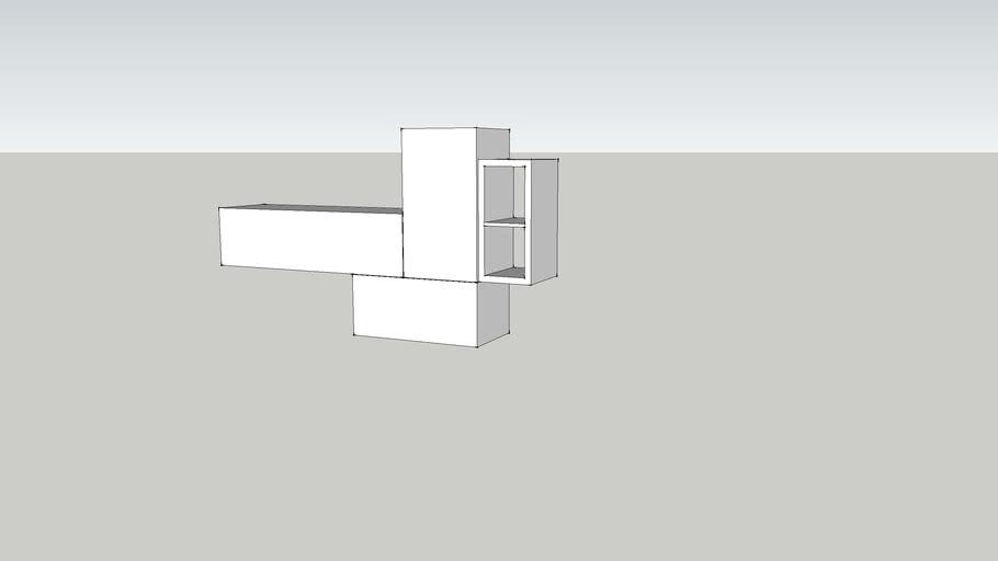 modulo alto mueble salon