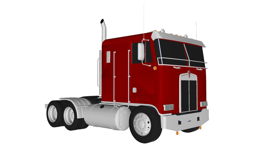1986 Kenworth K-100 Cabover- Final