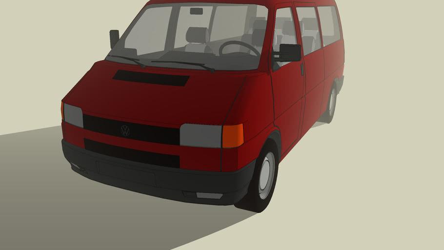 Vehicles - Volkswagen Transporter bus T4