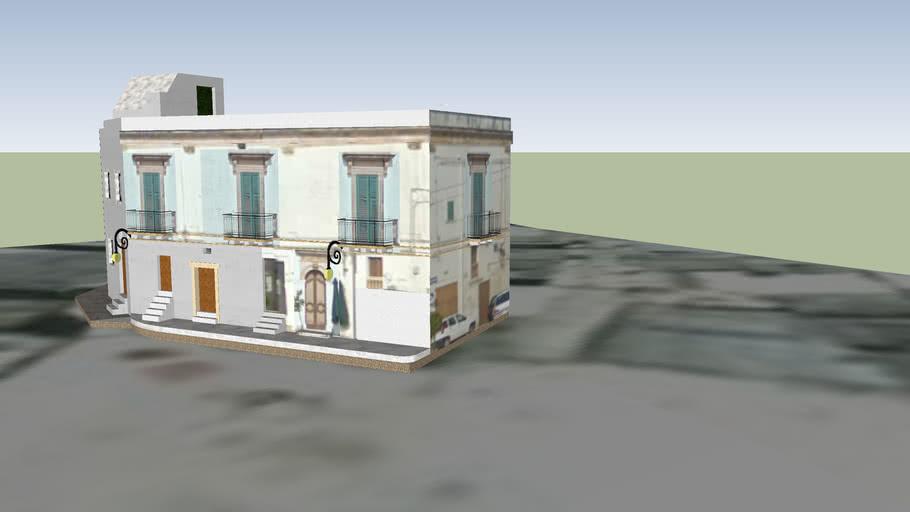 Ceglie Messapica - Piazza Plebiscito (civici dal 49 al 52)