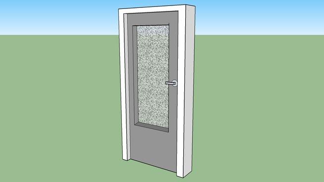 Drzwi z lat 70 XX wieku