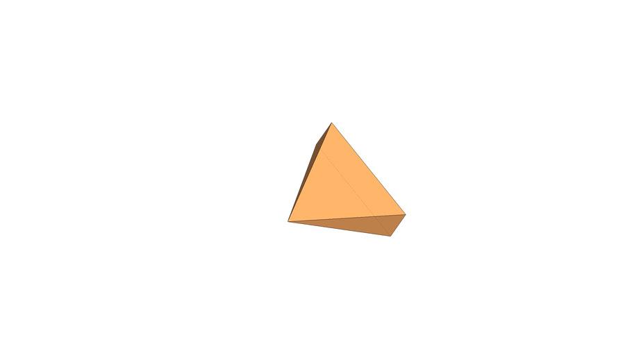 Liegende Pyramide